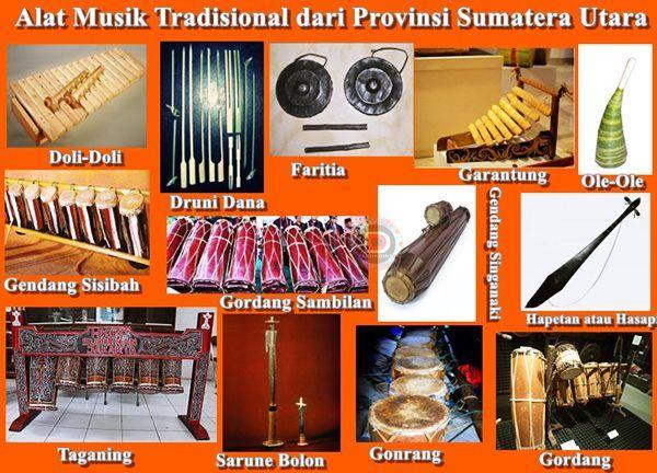 Pin Di Alat Musik Tradisional Indonesia
