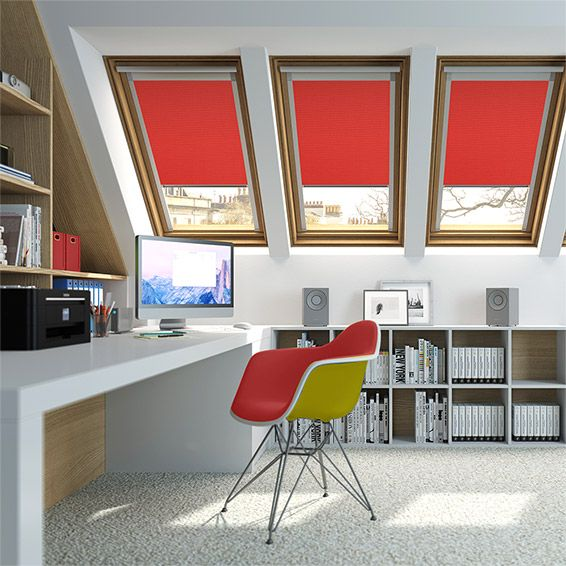 Elements Smoke Grey Blackout Blind For Velux Windows From Blinds