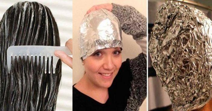 La Salud Ante Todo.: Si crees en los milagros, ponte papel de aluminio y esta mezcla antes de lavarte el pelo y mira lo que pasa.