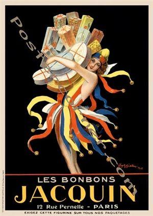 Cappiello poster print Jacquin.
