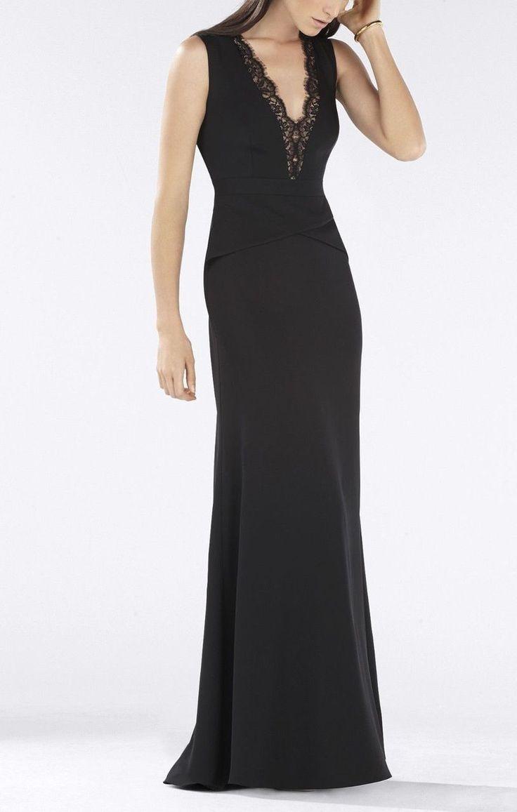 Donna Bella, Gold V-Neck Foil Print Bandage Gown - Shop USA Texas