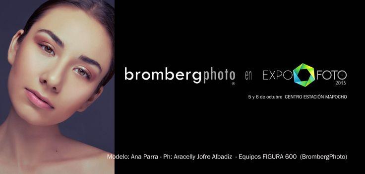 Bromberg Equipos Fotográficos en Expofoto2013. Días 5 y 6 de Octubre. Estación Mapocho. #ExpofotoChile  +info http://www.expofoto.cl/ www.brombergphoto.com