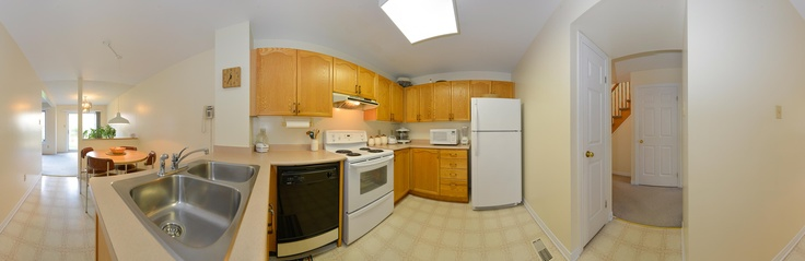 Kitchen and Dining Room Panorama