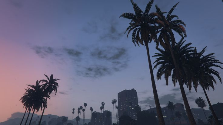 A warm sunset in Los Santos. #grandtheftautov#gtav#rockstargames#landscape #art #beautiful#moment #love#pic#ambience