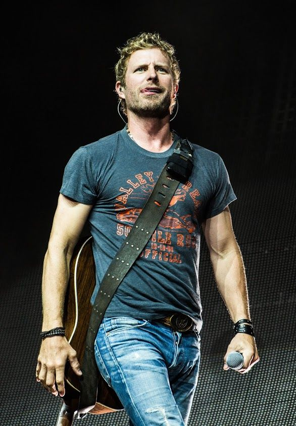 Dierks Bentley I seen opening for another performer....I would love to go to a concert where he is the main act! Love me some Dierks