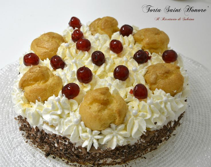 Torta Saint Honoré all'italiana