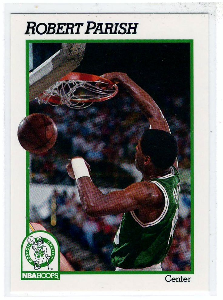 Sports Cards Basketball - 1991 NBA Hoops Robert Parish