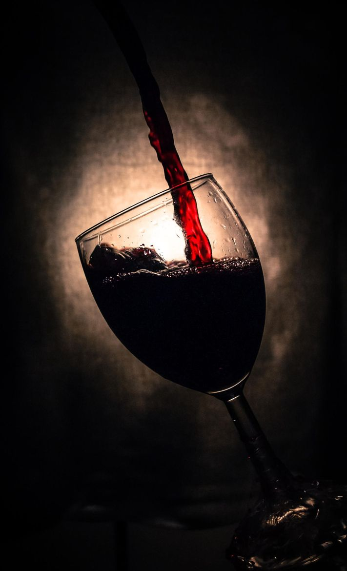 Photograph Glass of wine by Michal Golda on 500px