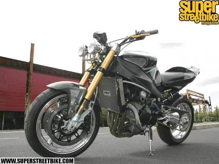 1999 Yamaha R1 - The Show Explosiver1   Super Streetbike