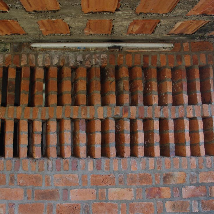 17 best images about perforated brick screen wall on for Perforated brick wall