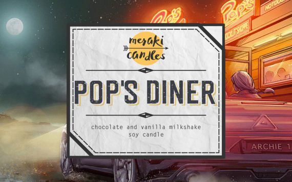 Pop's Diner by MerakiCandles on Etsy