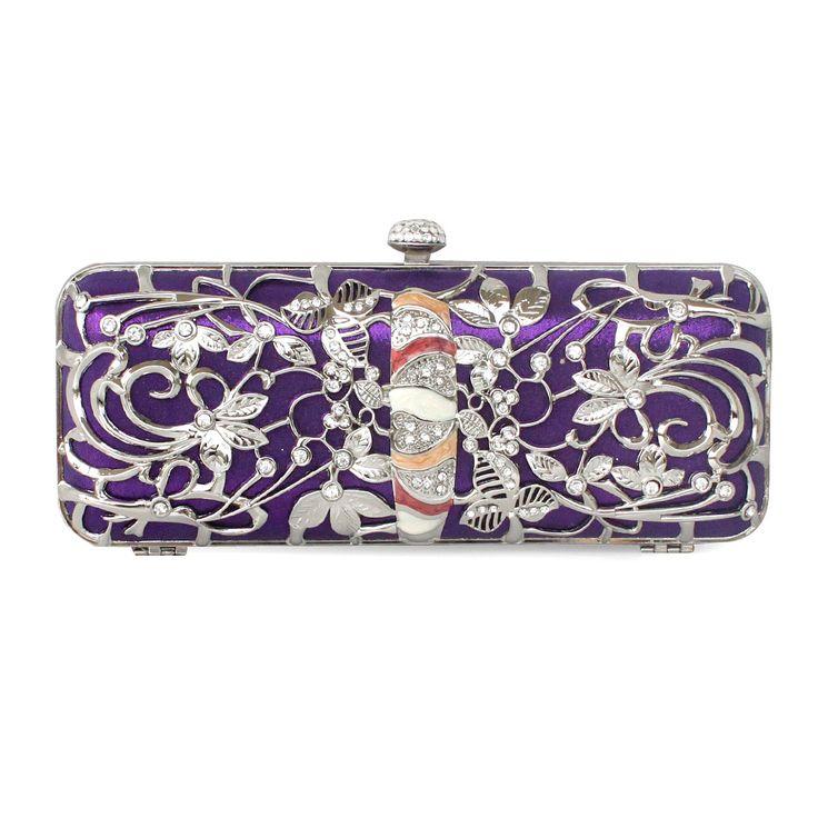 Amazing Metal Handbag With Nice Flower Pattern    Read More:   http://fashionant.com/amazing-metal-handbag-with-nice-flower-pattern-1073.html$84.98