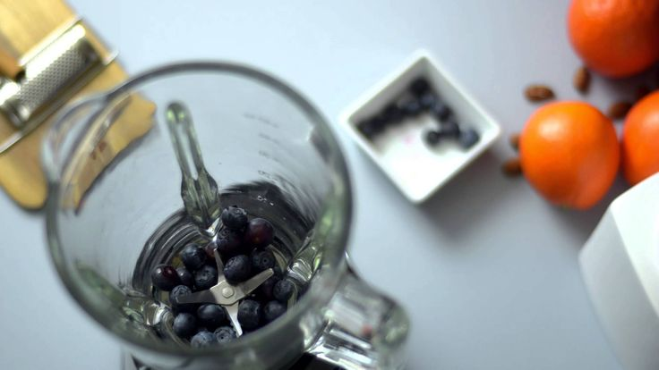 Herbalife Share a Shake! Recipe of the Day: high-protein Blueberry & Almond
