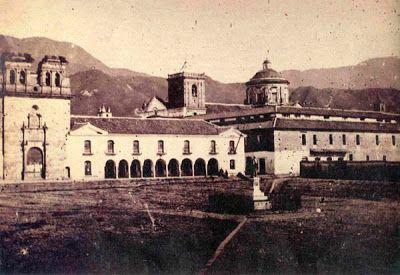 Colegio Mayor de San Bartolomé en la época de la Independencia