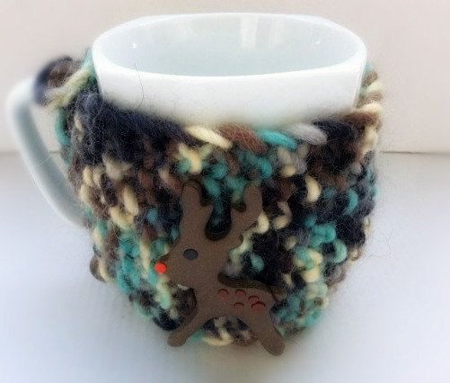 Mug cosy Mug Warmer Coffe Cozy Christmas Mug Cozy by Vissinokipos