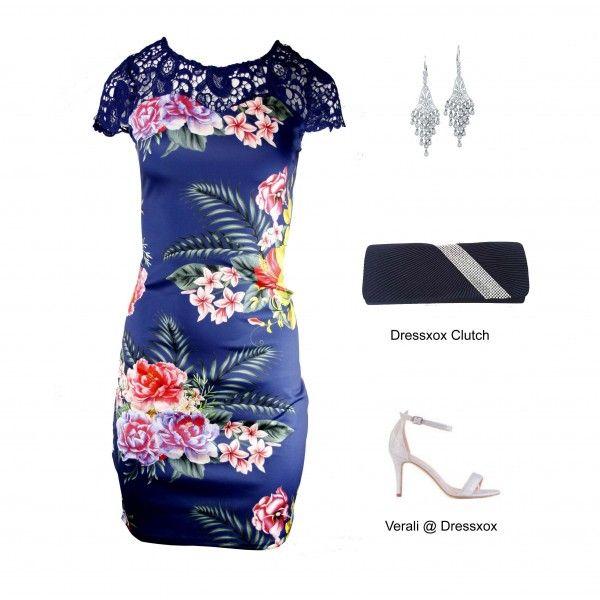 Ubaine Floral Contour Dress