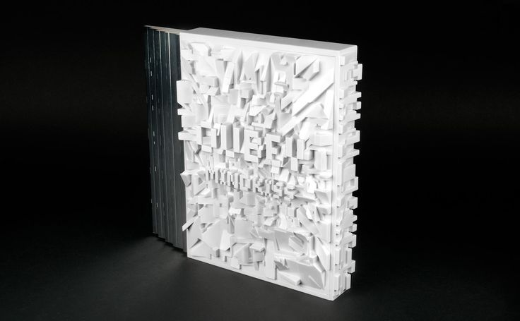 """The book """"OUBEY MINDKISS"""" introduces the work of the German artist, OUBEY. Art Direction, concept: Stefan Sagmeister."""