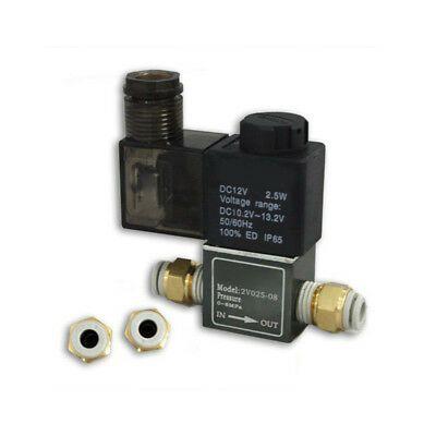 eBay #Sponsored Magnetventil mit 6mm Verbinder für Arduino High Speed Fotografie Wasser Tropfen