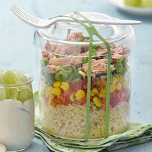 Reis-Tunfisch-Salat für 10 SP