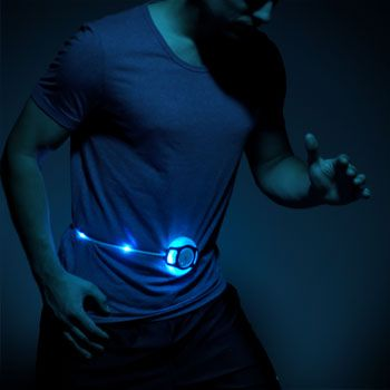 Glowbelt: The world's first self-retracting LED safety belt for fans of the great outdoors, fitness enthusiasts, children and more