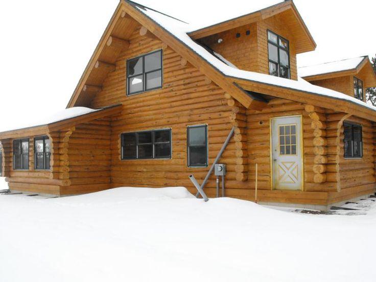 1032 best Log Cabin Homes images on Pinterest Log cabins Log