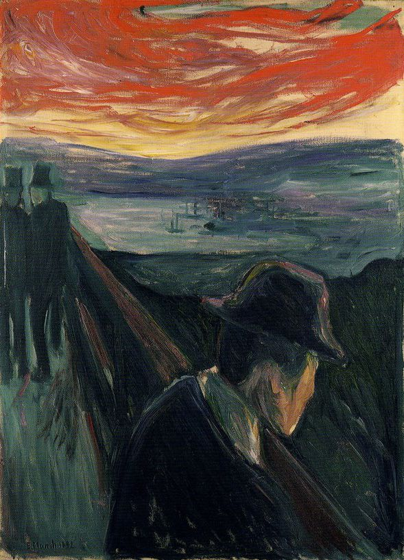 balenciaga clothing Edvard Munch - Despair, 1892, oil on canvas