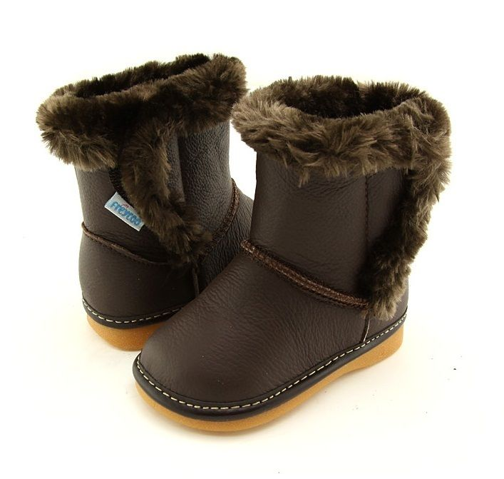 Freycoo | Harper | Chocolate Girls Boots Gorgeous chocolate brown leather boots from Freycoo.