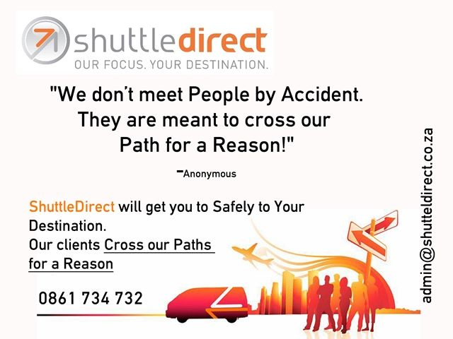 ShuttleDirect Clients Cross Our Paths for a Reason