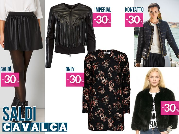I capi di tendenza da scegliere durante i #saldi! #cavalca #moda #fashion #varese #shopping #gaudì #kontatto #imperialfashion #only