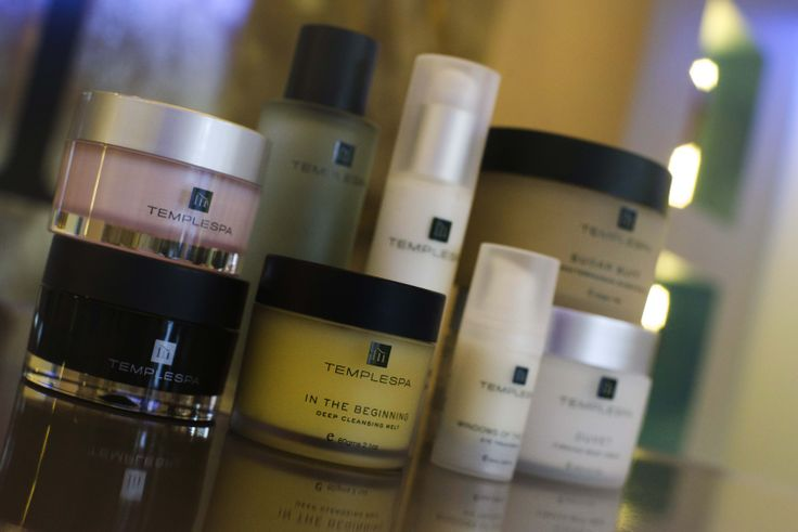 All our treatments use natural, paraben free @Temple Spa products!