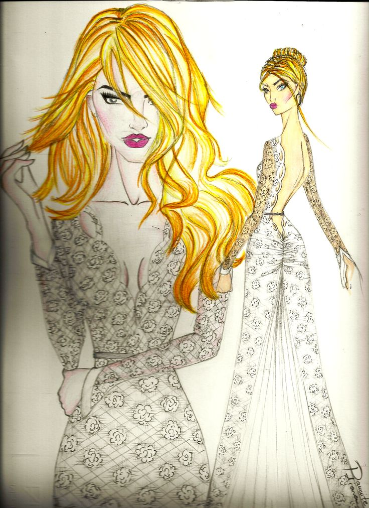 what do you think about my new drow??? #wedding #dress #drowing #abiti #sposa