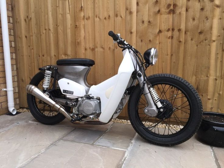 HONDA CUB c90 chopper custom bobber cafe racer streetcub stomp YX140 moped in Cars, Motorcycles & Vehicles, Motorcycles & Scooters, Honda | eBay
