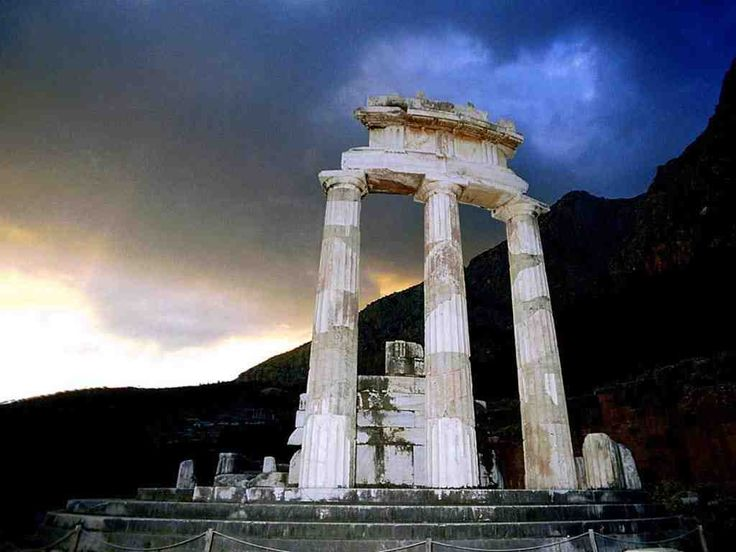 Oracle of Delphi, Greece http://en.wikipedia.org/wiki/Delphi