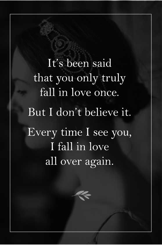 Unknown Quote Every Time I See You I Fall In Love All Quote