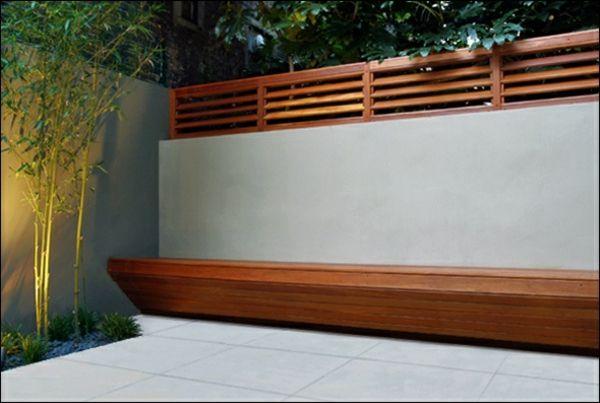 moderne gartenz une schaffen sichtschutz im au enbereich kleiner garten ideen pinterest. Black Bedroom Furniture Sets. Home Design Ideas