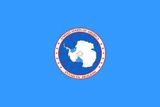[flag of the National Science Foundation Antarctic Program]