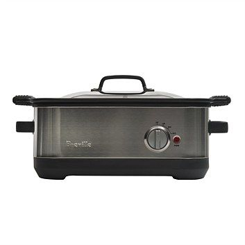 Great range of Breville home appliances. Quality items at great prices. Order online at Briscoes and we will deliver right to your door., Breville BSC560BSS Slow Cooker with Easy Sear Pan