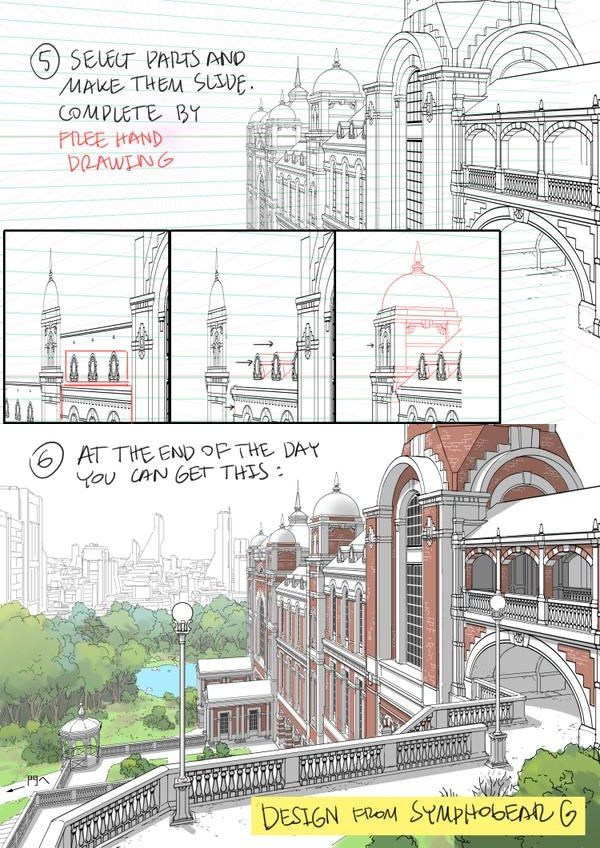 Architecture Drawing Tutorial 13 best drawing effects techniques images on pinterest | art