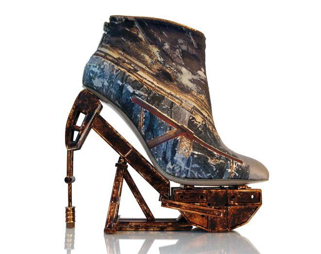 "Anastasia Radevich's new shoe collection ""Lost Civilisations"""