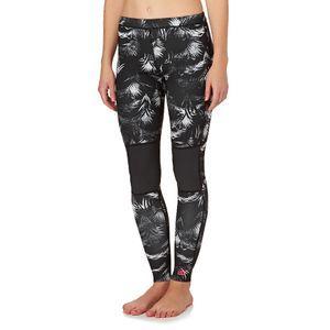 Billabong Wetsuit Pants - Billabong Womens Surf Capsule Skinny Sea Legs 1mm Wetsuit Pants - Black Sands