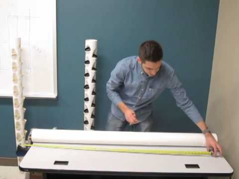 How to Make a Verticle Tower for Aquaponics / Hydroponics: Part 1 Measu...