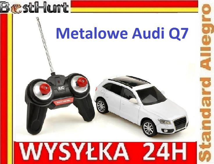 Sterowany Metalowy Samochód R/C 4ch Audi Q7 20cm