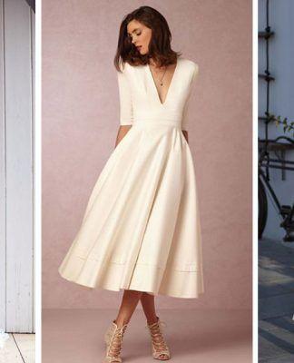 Vestidos de Novias minimalistas para el final del 2016