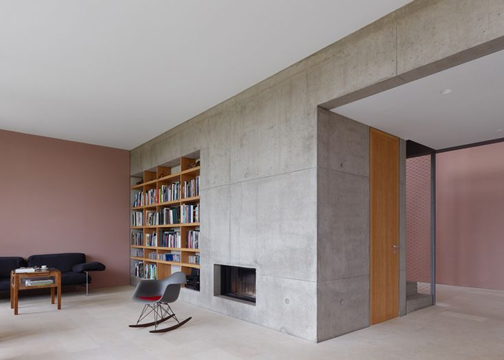 Stuttgart House By Search With Shingle Clad Walls And An Art Gallery German ArchitectureInterior