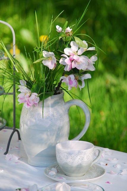 Floral Arrangement ~ Fresh flowers.