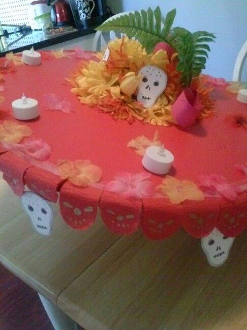 La Muerte hat for Halloween!