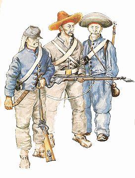 The Mexican Adventure: Uniforms: Republican Army Jalapa Battalion Vera Cruz Battalion Cordova Battalion