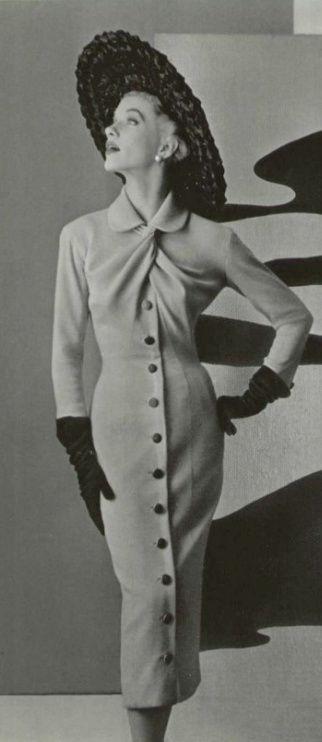 Jacques Fath Dress, 1955