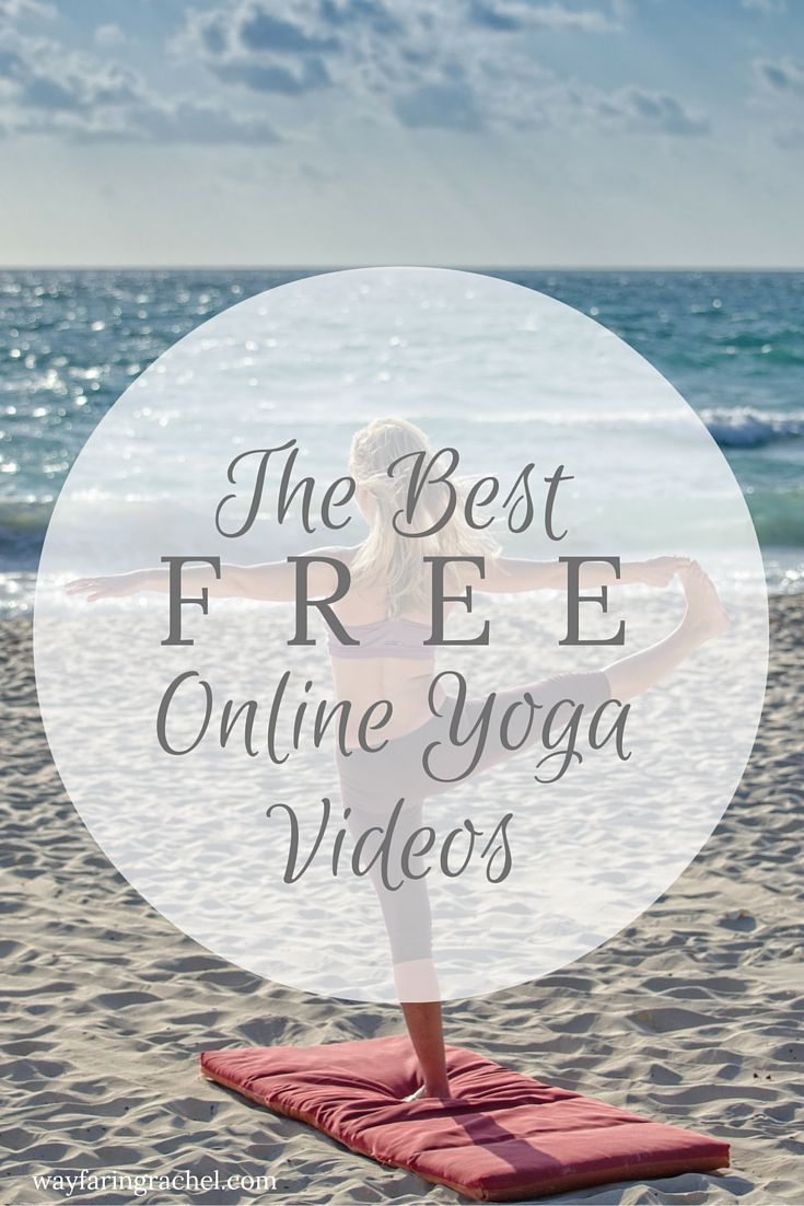Doing yoga doesn't require fancy equipment or even a studio. Whether you're a yoga beginner or a seasoned yogi, you can find great yoga videos online - for free! Click to get access, or pin for later.