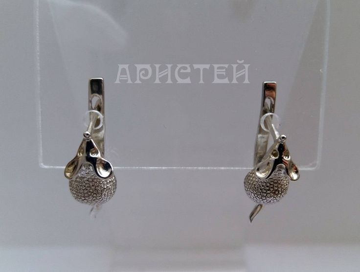 """Earrings """"Mouse"""" by ARISTEY on Etsy"""